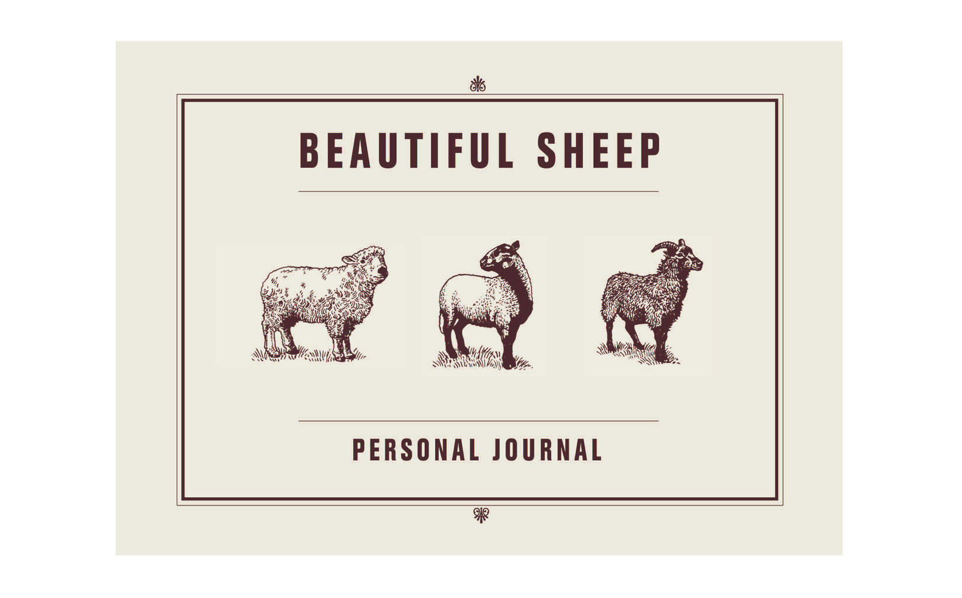 Beautiful Sheep Journal