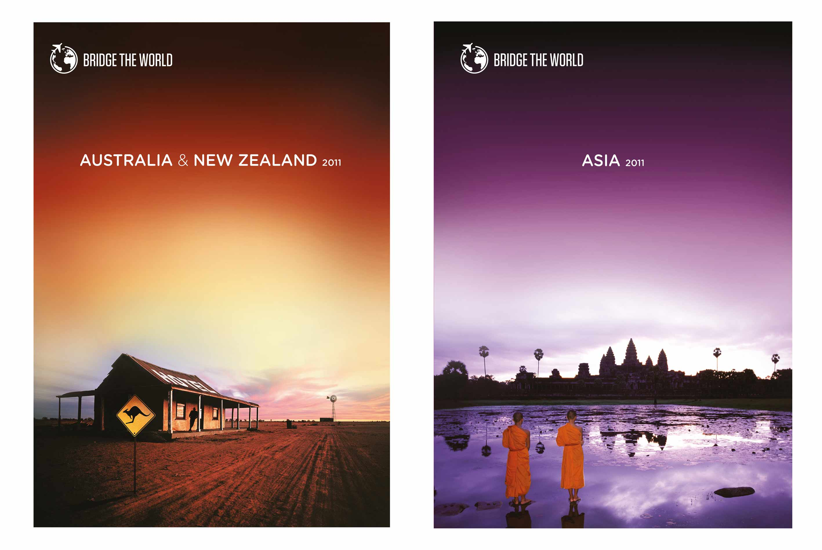 Bridge the World Oz & Asia Covers