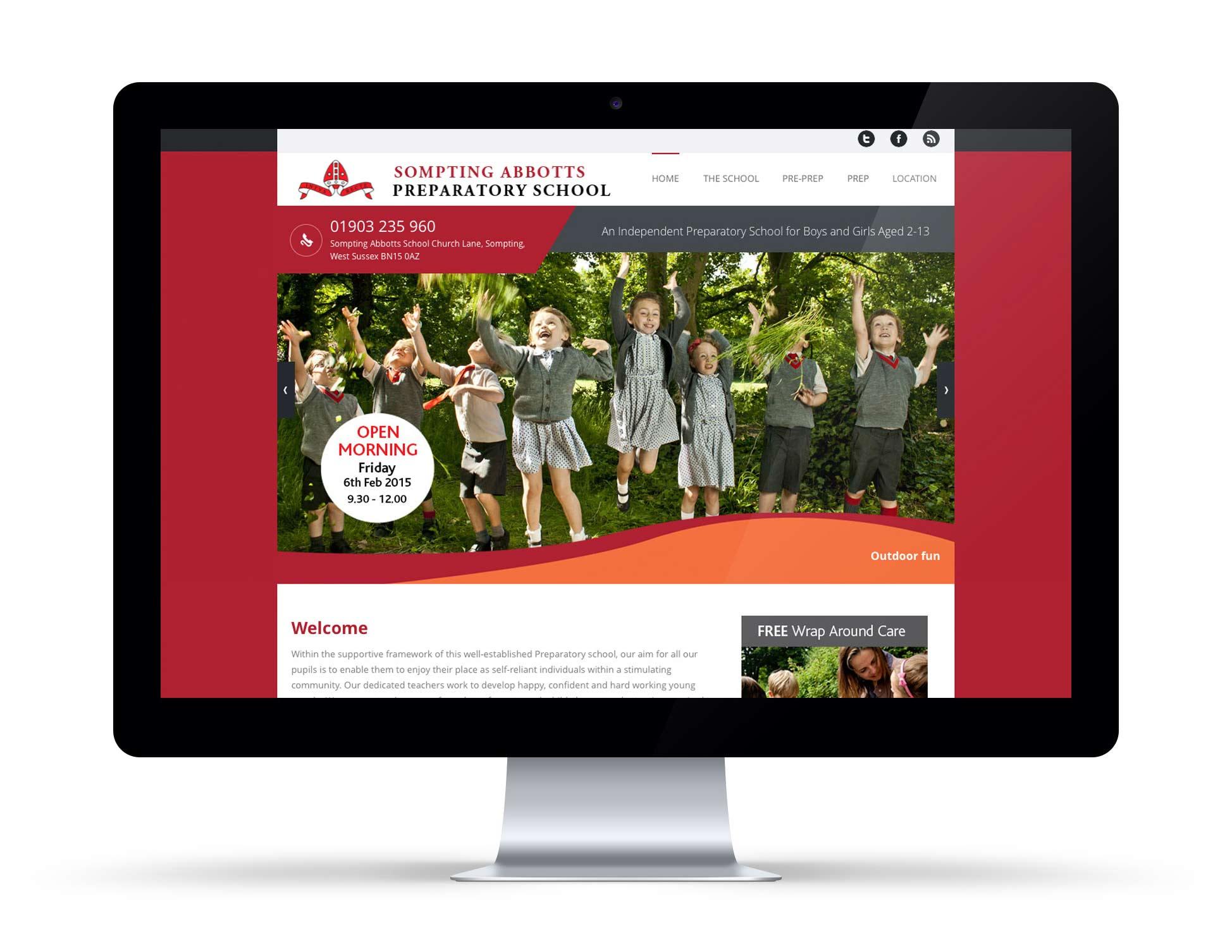 Sompting Abbotts Web Design