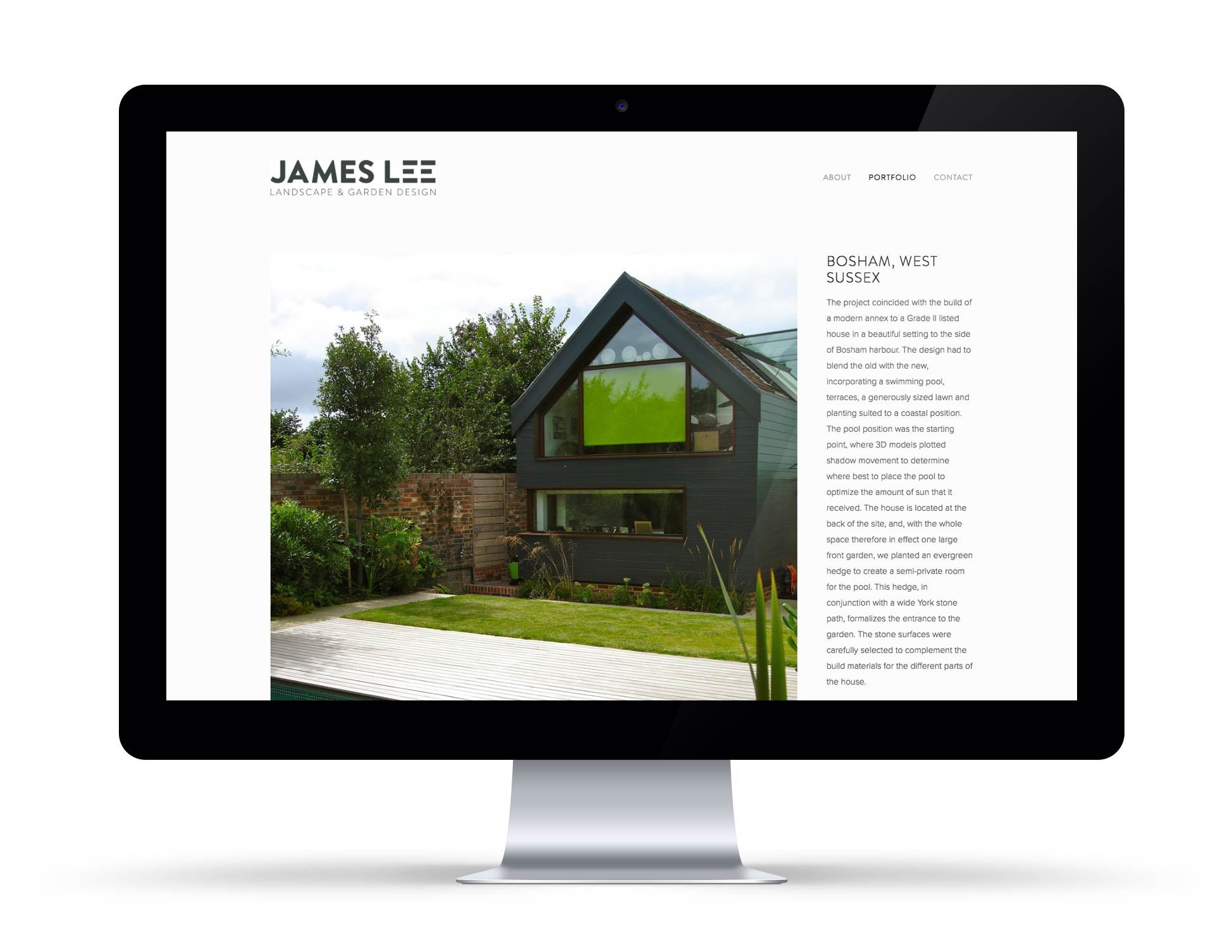 James Lee Website