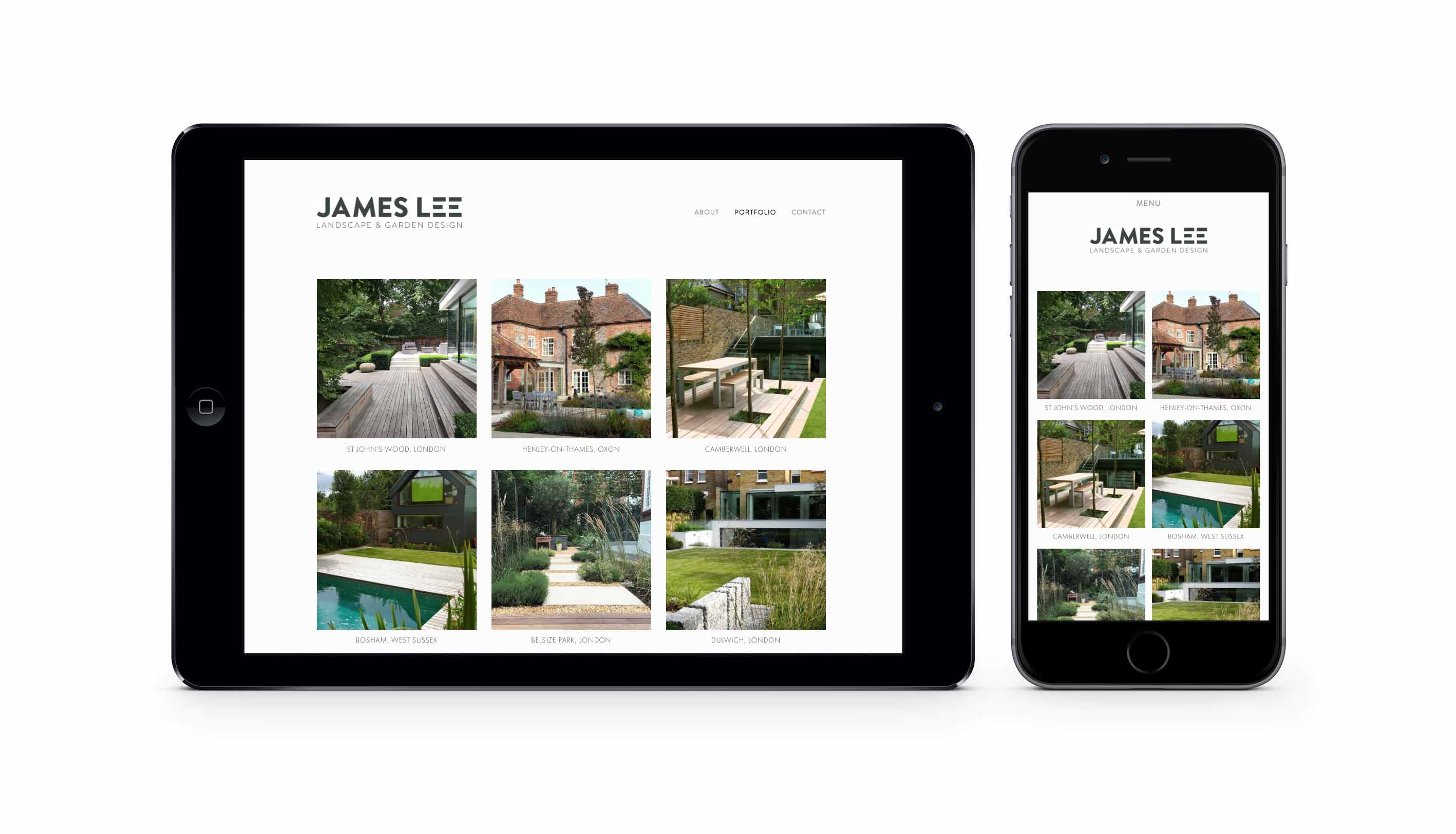 James Lee Web Responsive