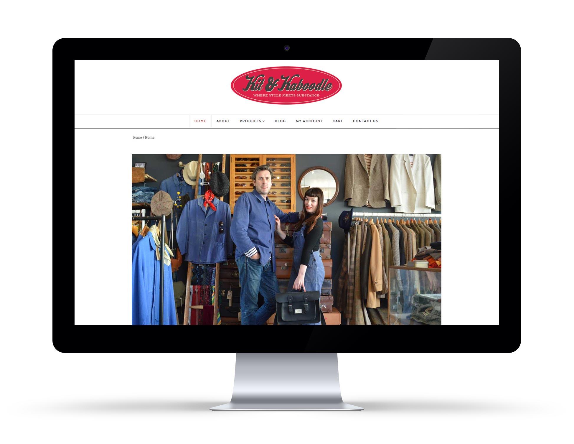 Kit & Kaboodle Website 1