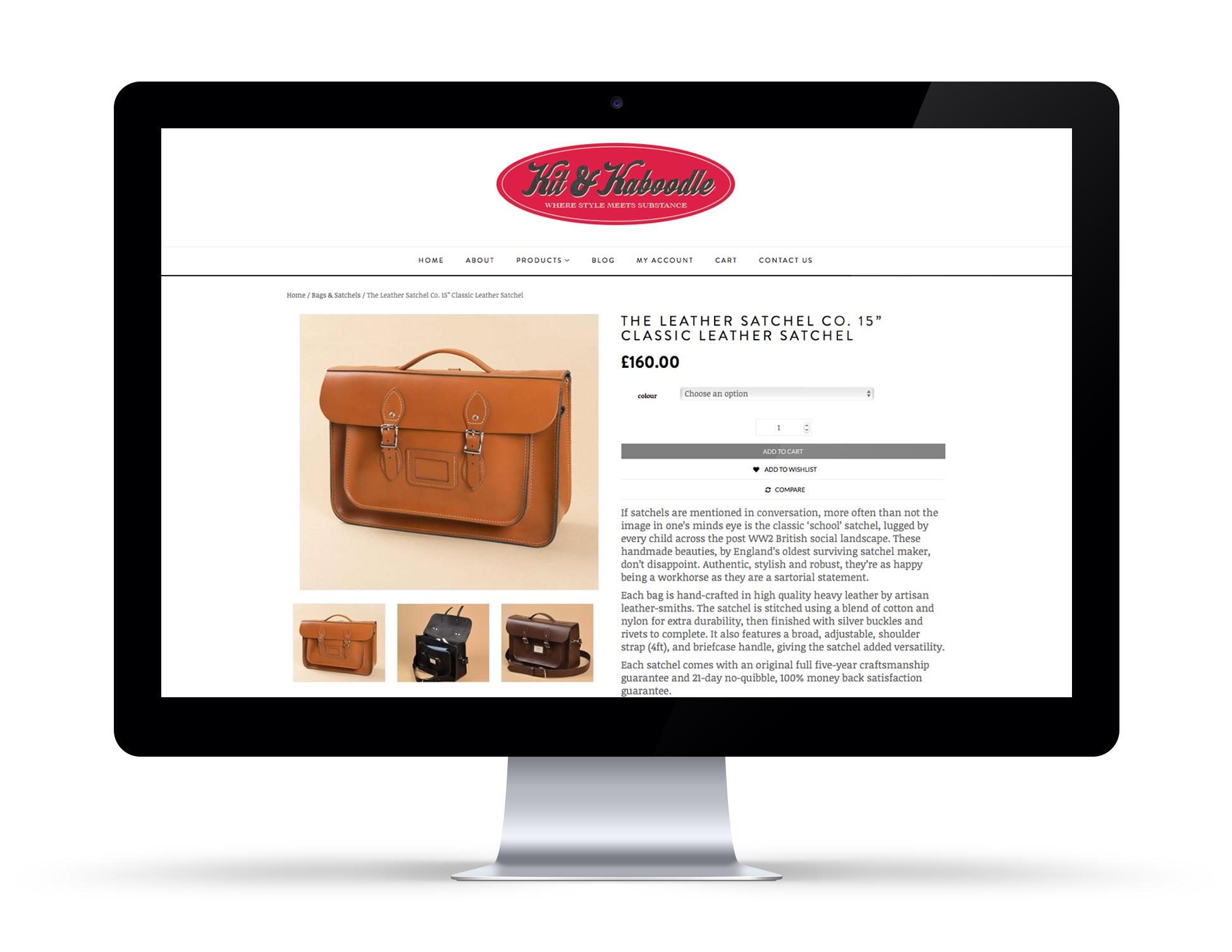 Kit & Kaboodle Website 2