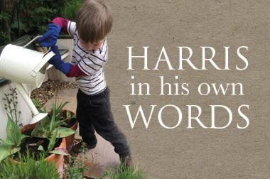 Harris in his own words book