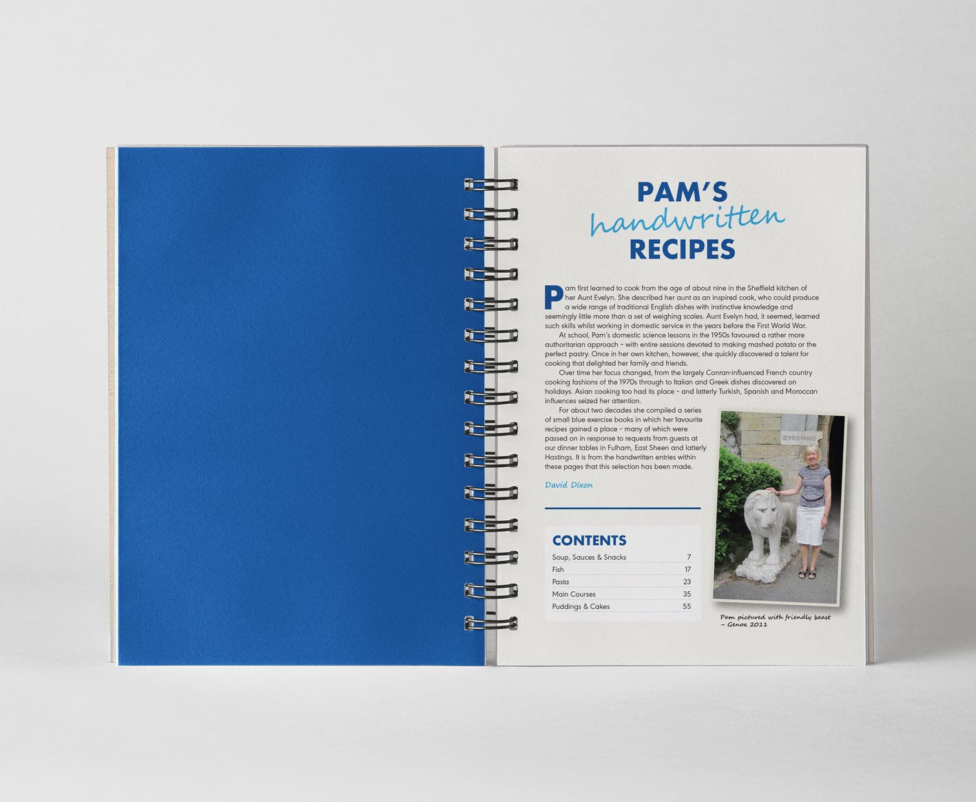 Pam's Handwritten Recipe Book